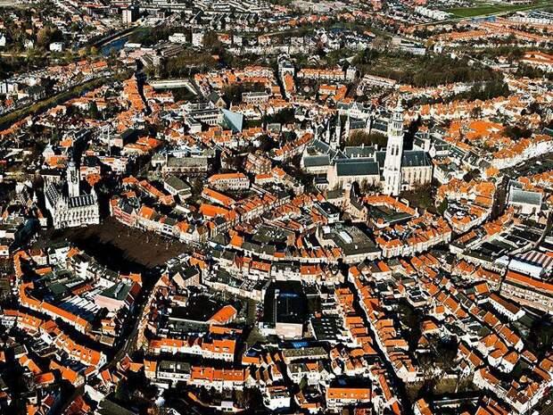 Самые лучшие города мира с высоты птичьего полета