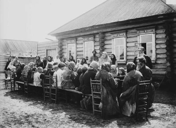 Народная столовая общественного питания. село Большой Муром, Нижегородская губерния, Княгининский уезд, 1891-1892 год.