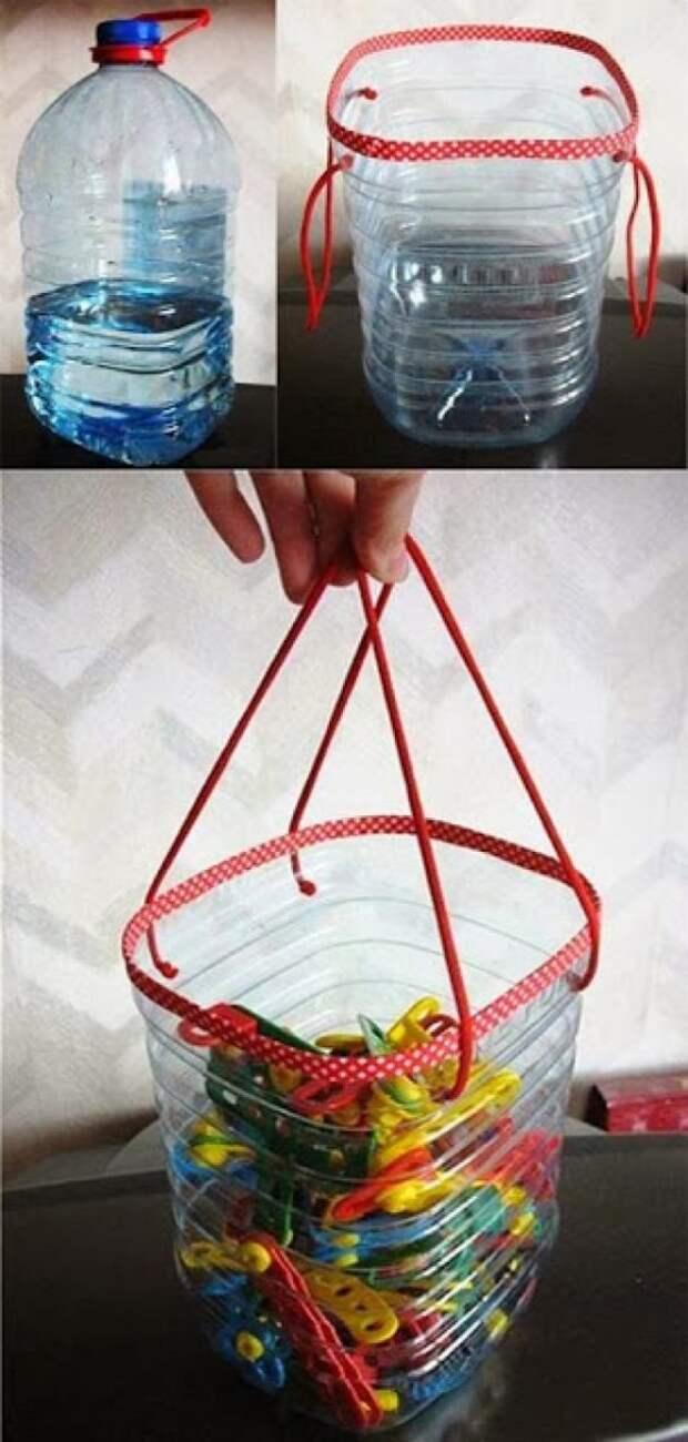 Их нельзя просто выбросить: 17 способов переработки пластиковых бутылок
