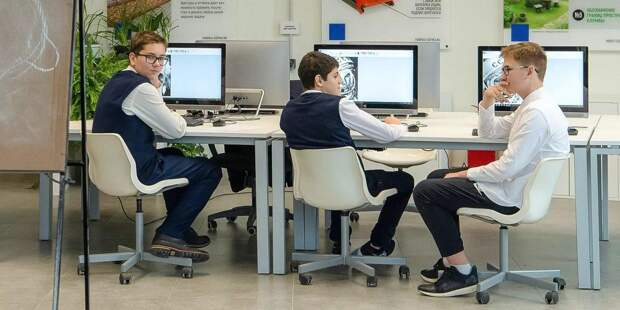 Сергунина: детский технопарк «Москва» проведет в «Технограде» курс занятий. Фото: mos.ru