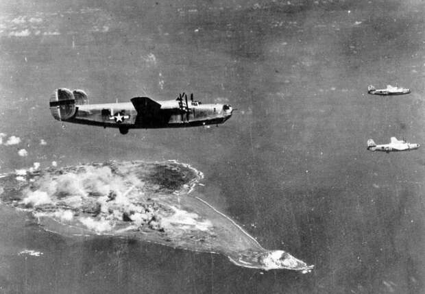 Действия американской авиации против японских островов на завершающем этапе войны