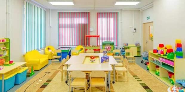 Собянин открыл новый детский сад на севере Москвы фото: mos.ru