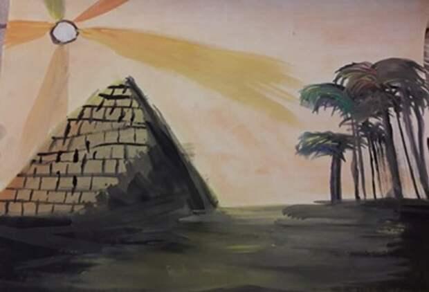 Ребята из «ЭПИ-Алтуфьево» нарисовали Древний Египет