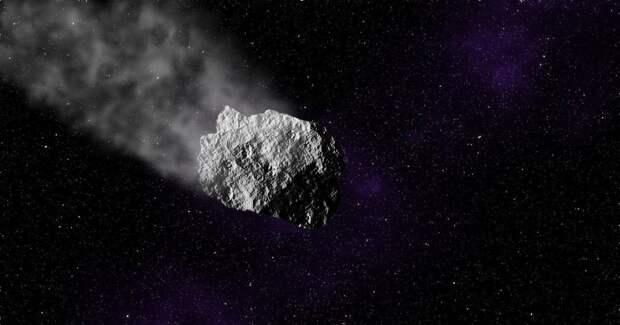 NASA впервые засекло след от астероида Бенну