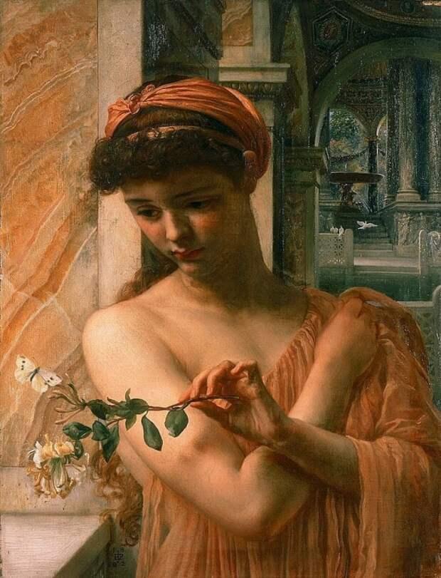 Художник Edward John Poynter (1836 – 1919). Бард английской живописи