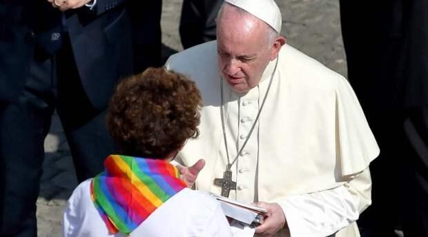 Папу Римского оговорили: он никогда не поддерживал однополые браки