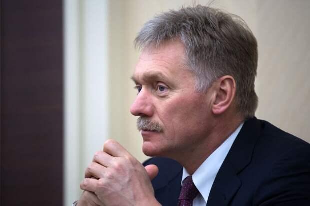 Песков признал сближение Украины с НАТО как неизбежность