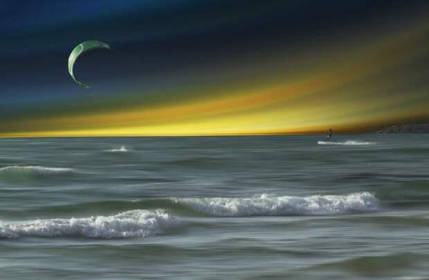 Фото импрессия израильского художника