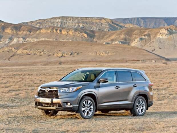 Toyota проверит 800 кроссоверов Highlander в РФ из-за возможной утечки бензина