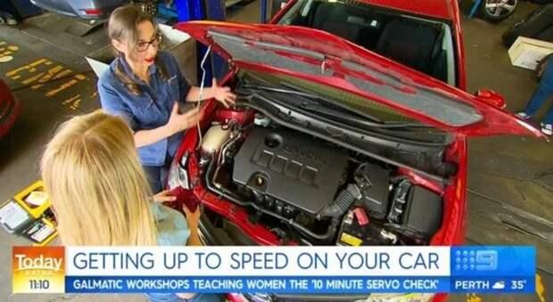Поменять пробитую шину и замерить уровень автомобильного масла: зачем в Австралии этому учат девочек-подростков?