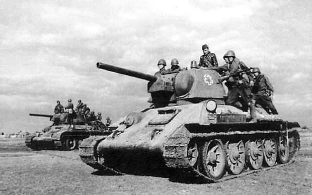первый бой немцев с танками Т-34