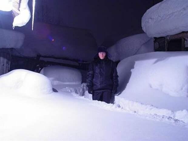 Сугробы 10 сантиметров. На Омскую область надвигается сильный снегопад