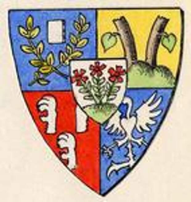 Эрих Маттиас фрайхерр фон Нолькен, герб
