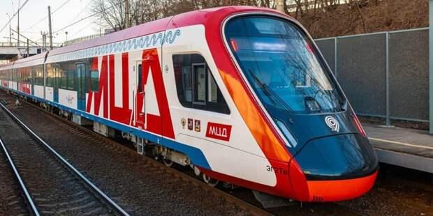 Собянин открыл новую станцию-вокзал Щукинская МЦД-2