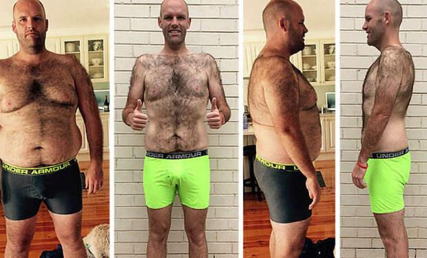 Мускулы на картошке: сбросил жир за 1 год