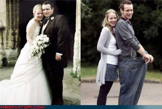 Прикольные свадебные фотографии (68 фото)
