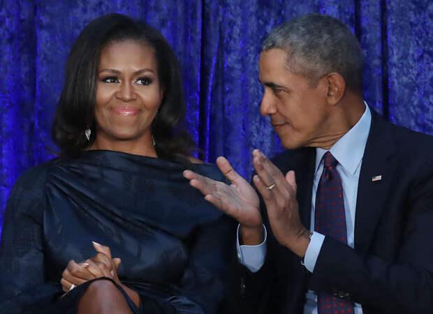 Мишель и Барак Обама самые восхищающие люди года