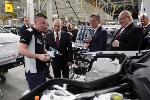 Зачем Путин открывал завод