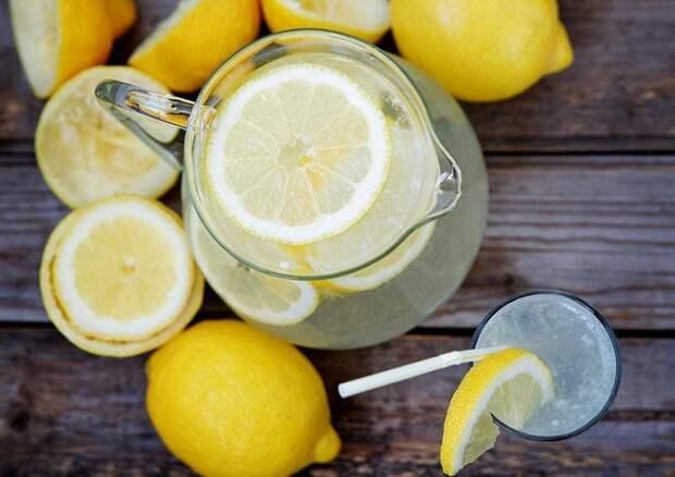 Лимон для чистки печени