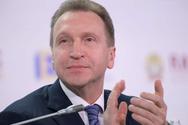 """Шувалов: Путин """"заболел"""" высокими технологиями и цифровой экономикой"""