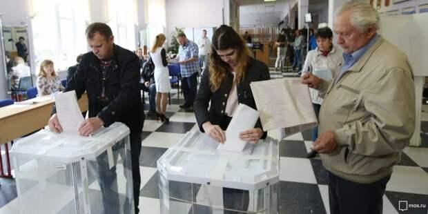 За Собянина отдано на четверть больше голосов, чем в 2013 году. Фото: mos.ru