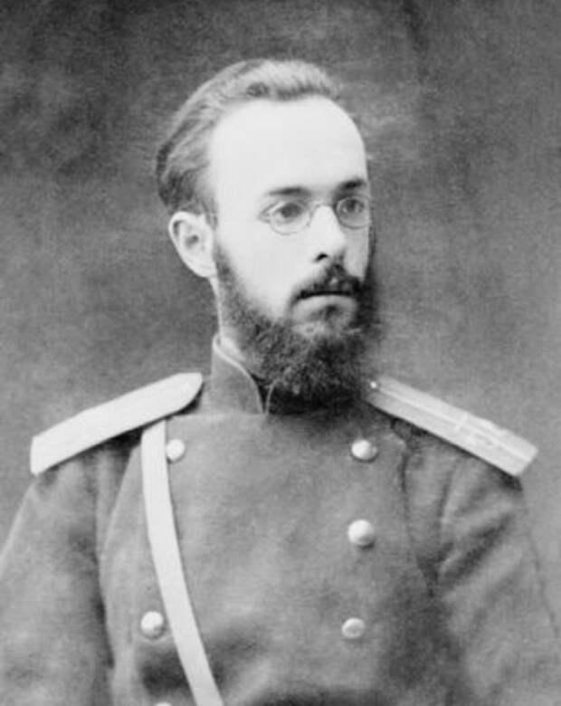 Надсон во время учебы в Павловском военном училище