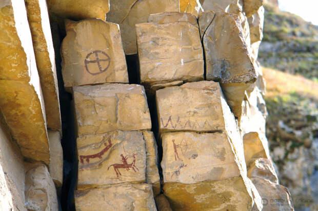 Писаницы древних художников