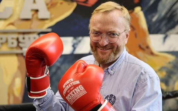 Джигурда и Милонов проведут бой по правилам бокса