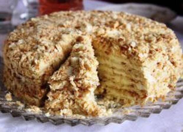 Торт без выпечки - рецепт.