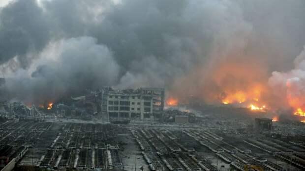 4 города кроме Бейрута, где тоже взрывалась аммиачная селитра