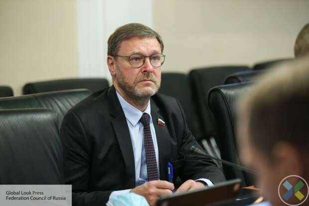 """Косачев: Позиция Европы по Донбассу лишь """"подливает масла в огонь"""""""