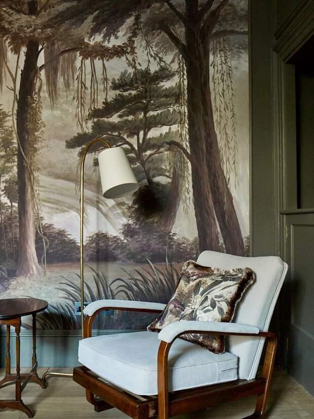 Прелести загородной жизни: уютный коттедж вдохновленный природой в Англии