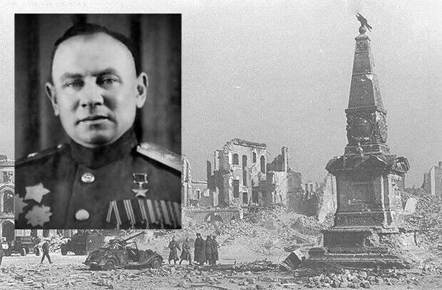 Дмитрий Жеребин: какой советский генерал первым вошел в Берлин