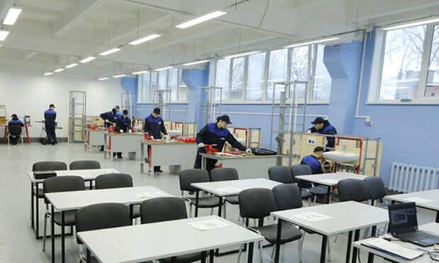 В Череповецком химико-технологическом колледже оборудуют четыре мастерские по нацпроекту