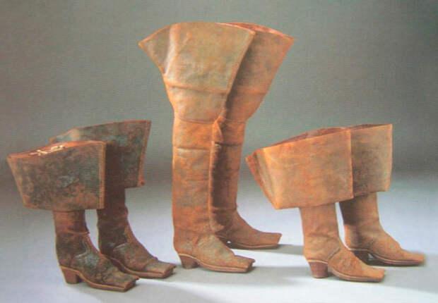 До короля Георга IV не было правой и левой единиц обуви. / Фото: blog.rendez-vous.ru