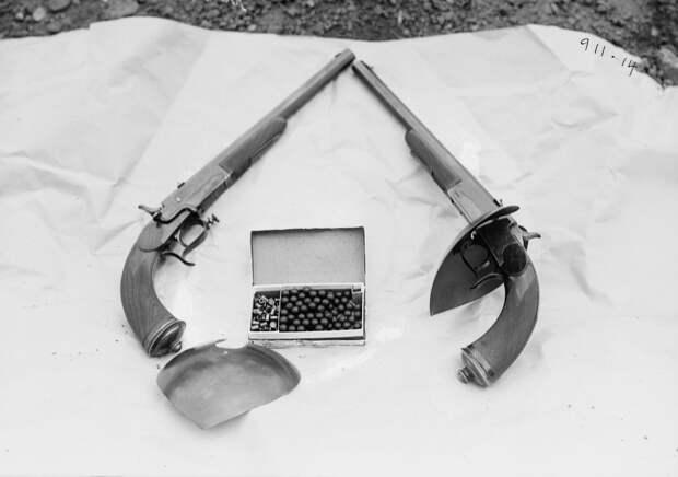 Оказывается, дуэли на пистолетах были Олимпийским видом спорта: 4 исторических факта