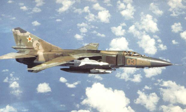 Катастрофа МиГ-23 в Бельгии 4 июля 1989 года