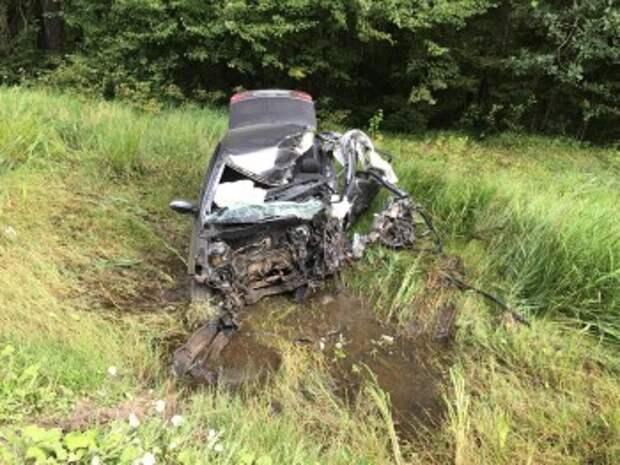 19-летний водитель погиб в лобовом ДТП