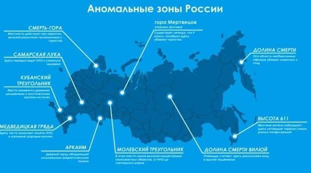 Аномальные зоны России, от которых замирает дыхание