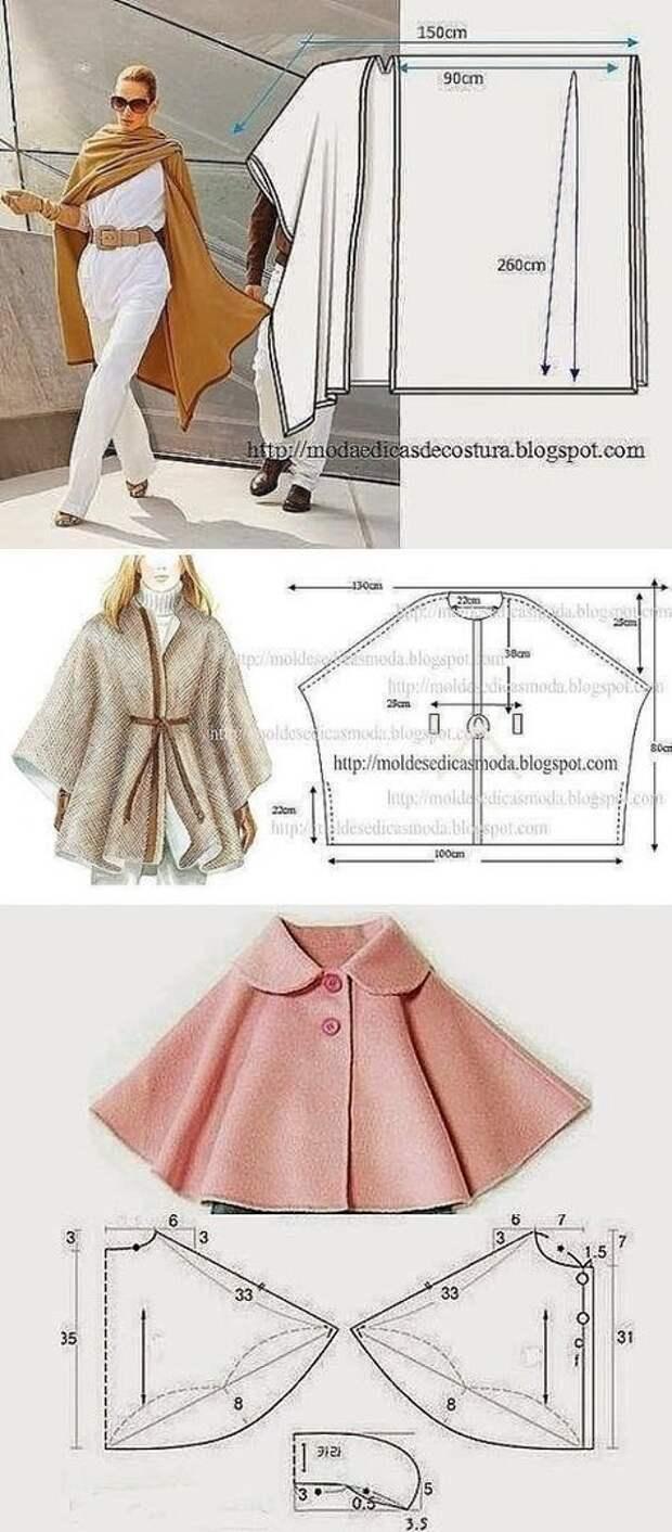 Утепляемся со вкусом, подборка схем модных пальто на осень