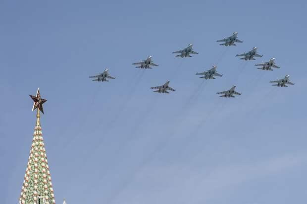 Воздушную часть Парада Победы в Москве отменили