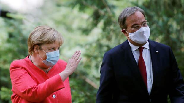Вместо фрау Меркель приходит герр Лашет. Он понимает Путина