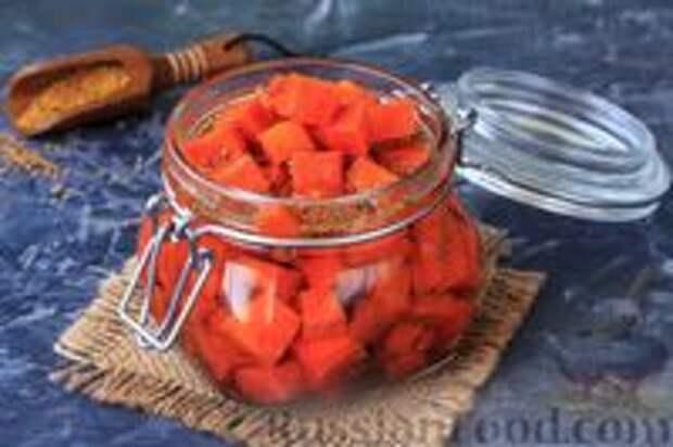 Фото приготовления рецепта: Острая морковь в горчичном масле - шаг №10
