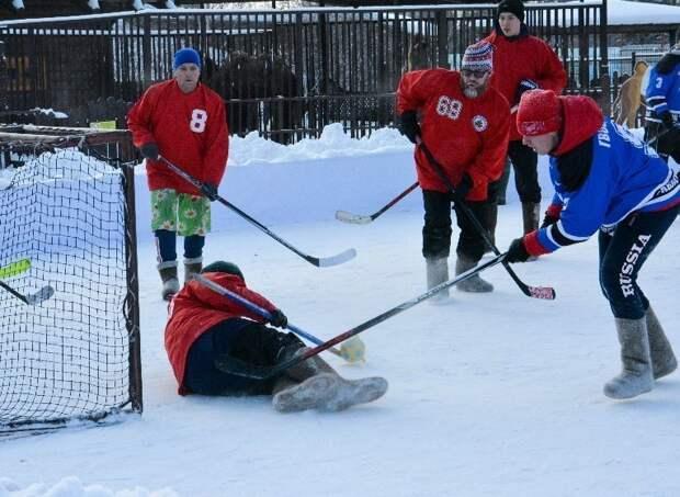 Турнир по хоккею на валенках состоится в Ижевске 12 декабря