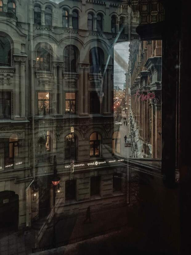 Из окна «Пале-Рояль»
