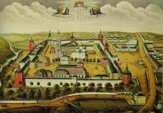 Основание Свято-Троицкой обители