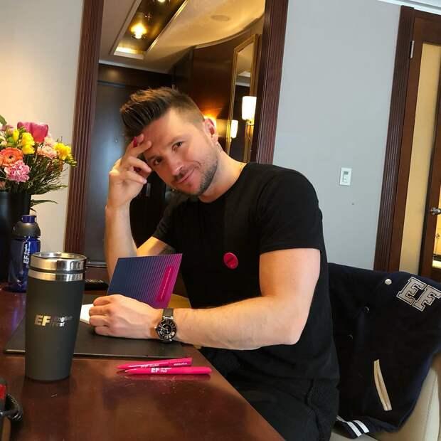 Сергей Лазарев назвал главным соперником на Евровидении себя образца 2016 года