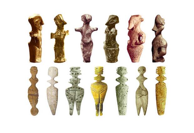 Скульптуры Богинь 5300-4200 до н.э.