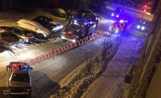 В Мурманске горели квартира и автомобиль