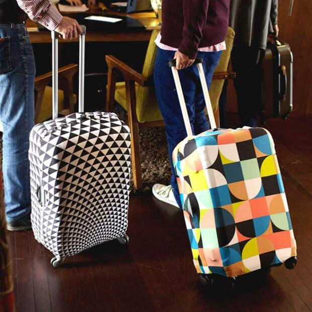 Чтобы чемодан остался чистым. /Фото: vinand.ru